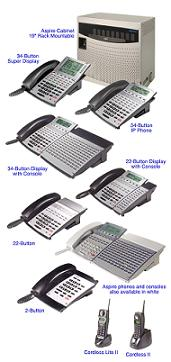 NEC Aspire Telephone System Options